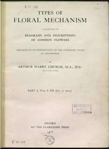 Types of floral mechanism
